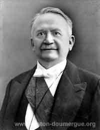Président Gaston Doumergue
