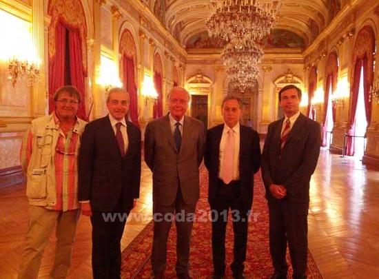 Exposition Gaston Doumergue à l'Assemblée Nationale: le CODA 2013 à l'honneur