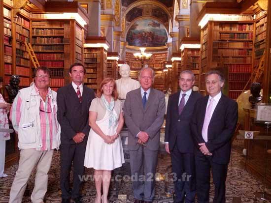 Exposition Gaston Doumergue à l'Assemblée Nationale avec le CODA 2013