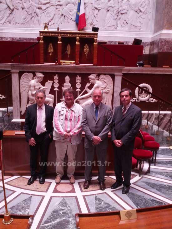 le CODA 2013 invité au Parlement pour l'exposition Gaston Doumergue